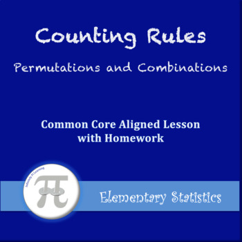 Permutations and Combinations (Lesson Plan with Homework)