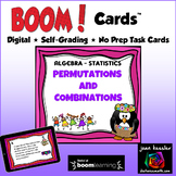 Permutations and Combinations with BOOM Cards Digital 1:1