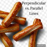 Perpendicular vs. Parallel Lines Pretzel Activity