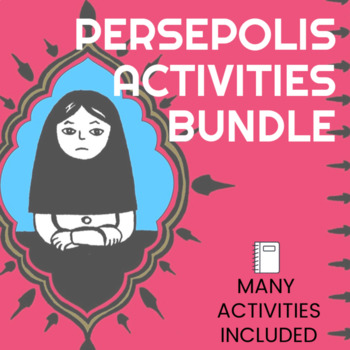 Persepolis - Bundle - LOTS of great activities!
