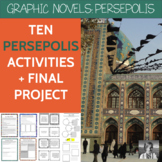 Persepolis Set: 9 Class Activities, Discussion Role Cards,