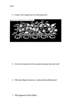 Persepolis Quiz Chapters 1-6