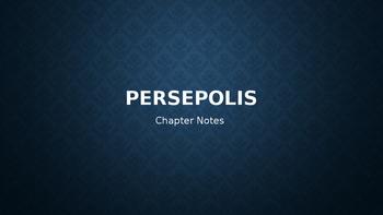 Persepolis Reading Notes