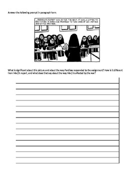 Persepolis Reading Questions Chapters 7-12