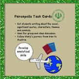 Persepolis Task Cards