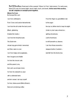 "Persepolis ""Where I'm From"" Poem"