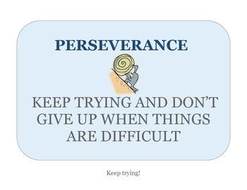 Perserverance Poster