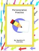 Perserverance Practice- MP.1