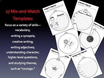 Perseus and Medusa: Greek Mythology Reading Response Activity