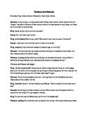 Perseus and Medusa Play/Skit Script