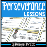 PERSEVERANCE Activities and Posters - Character Education
