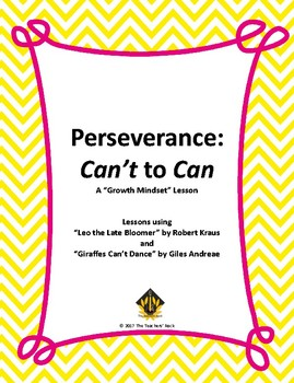 Perseverance: Can't to Can (Growth Mindset)