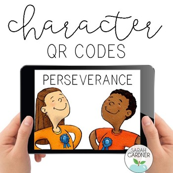 Perseverance Character Education QR Code Exploration