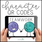 Teamwork Character Education QR Code Exploration
