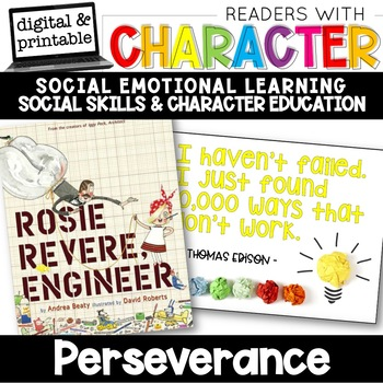 Perseverance - Character Education | Social Emotional Learning SEL