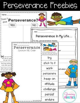 Perseverance - Freebie
