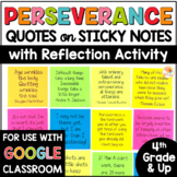 Perseverance Quotes Sticky Notes