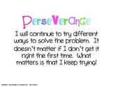 Perseverance in Problem Solving Poster (with color)