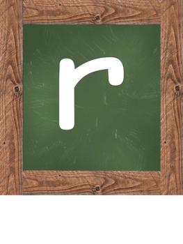 Persevere Chalk Board Green