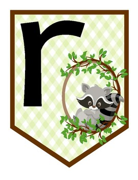 Persevere Forest Friends Raccoon