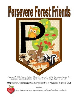 Persevere Forest Friends with tree