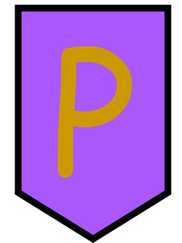 Persevere Purple and Gold