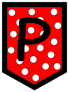 Persevere Red Polka Dots
