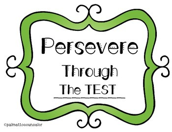 """Persevere Through """"The Test"""""""