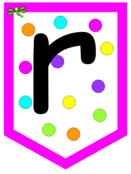 Persevere White and Neon Polka Dots
