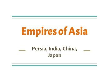 Persia, India, China PPT