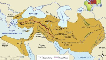 Persian Empire Power Point for World History