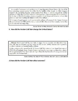 Persian Gulf Inquiry Assignment