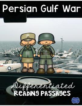 Persian Gulf War Desert Storm Differentiated Reading Passa