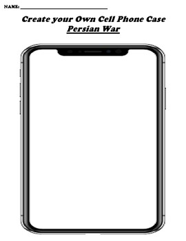 Persian War CREATE YOUR OWN CELL PHONE COVER