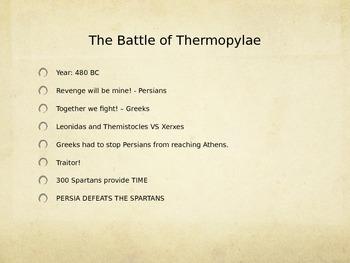 Persian War PowerPoint Presentation