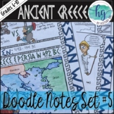 Ancient Greece Doodle Notes Set 5 Persian Wars