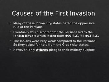 Persian Wars PowerPoint