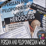 Persian and Peloponnesian War {PowerPoint,Guided Notes,Editable Quiz,and More!}