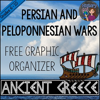 Persian and Peloponnesian Wars Chart
