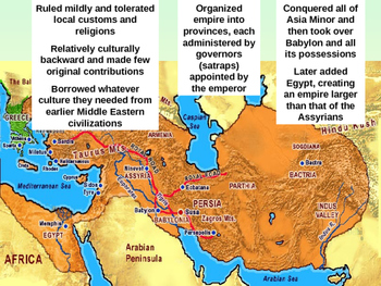 Persians, Phoenicians, Lydians Rise and Fall of Mesopotamian Empires