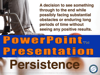 Persistence PowerPoint Lesson