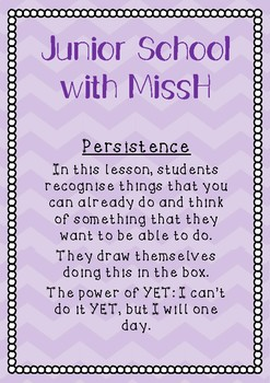 Persistence - The power of YET