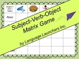 Subject - Verb - Object Game
