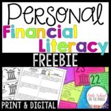Personal Financial Literacy FREEBIE | Distance Learning Google