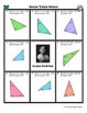 Person Puzzle -- Acute, Obtuse and Right Triangles - Clara Barton Worksheet