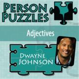 Person Puzzle - Adjectives - Dwayne Johnson