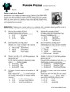 Person Puzzle -- Coordinate Plane - Salvador Dali Worksheet