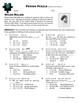 Person Puzzle -- Domain and Range - Helen Keller Worksheet