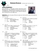 Person Puzzle - Equations Two-Step - Jane Goodall Worksheet
