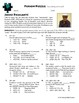 Person Puzzle -- Factoring w/ GCF - Jaime Escalante Worksheet